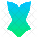 Button Swimsuit One Icon