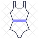 Swimsuit Summer Woman Icon