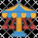 Swing Amusement Park Icon