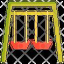 Swing Garden Playground Swing Icon