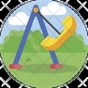 Swing Kindergarten Childhood Icon