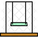 Swing Park Playground Icon