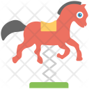 Horse Swing Kids Icon
