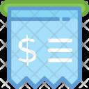 Swipe Machine Bill Icon