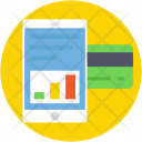 Swipe Card Analytics Icon