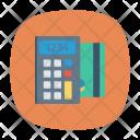 Swipe Card Calculator Icon