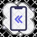 Mobile Left Swipe Icon