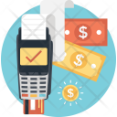 Payment Terminal Cash Icon