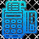 Swipe Machine Bill Receipt Icon