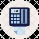 Paying Creditcard Swipe Icon