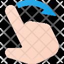 Swipe Right Icon