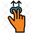 Touch Gesture Arrow Icon