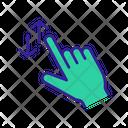 Swipe Touchscreen Concept Icon