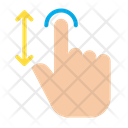 Fingers Gesture Hand Icon