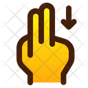 Swipe With Fingers Icon