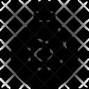 Swirl Design Ball Icon