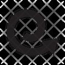 Swirl Arrow Direction Icon