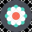 Swirl Shape Flower Icon