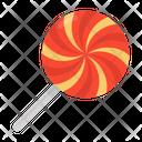 Swirl Candy Lollipop Candy Stick Icon