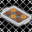 Swirl Cinnamon Cake Coffee Cake Crumb Cake Icon