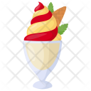 Swirl Yogurt Custard Icon