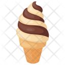 Swirl Ice-cream cone Icon