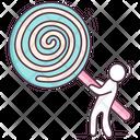 Swirl Lollipop Icon