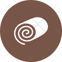 Swiss Roll Sweet Icon