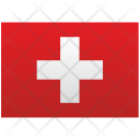 Swiss Flag Nation Icon