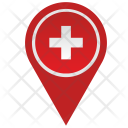 Swiss Switzerland Location Icon
