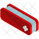 Swiss Knife Isometric Icon