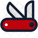 Swiss Knife Knife Pocketknife Icon