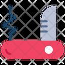 Swiss Knife Army Knife Knife Icon
