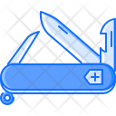 Swiss Knife Travel Icon