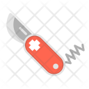 Swiss Knife Cutter Icon