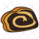 Swiss Roll Jelly Roll Cream Roll Icon