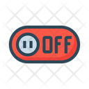 Switch Off Toggle Icon