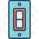 Switch Control Circuit Breaker Icon