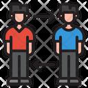 Switch Employee Transfer Employee Switch Member Icon