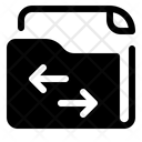 Switch Folder Archive Arrow Icon