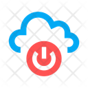 Cloud Switch On Switch Off Icon