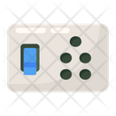 Switchboard Electric Board Electrical Socket Icon