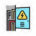Switchboard Box Color Icon