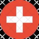 Switzeland Flag World Icon