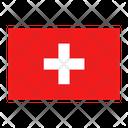 Switzerland Flag Country Icon