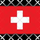 Flag Country Switzerland Icon
