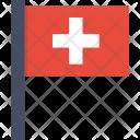 Switzerland Swiss National Icon