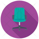 Swivel Chair Revolving Icon