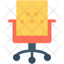 Chair Mesh Office Icon
