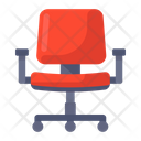Swivel Chair Chair Seat Icon